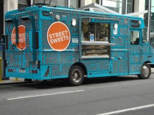 Street sweet food truck NYC