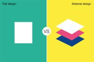 Flat_vs_Material_principe